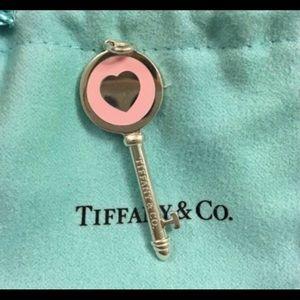 Tiffany&co pink key
